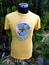 VINTAGE HAWAII STONEMAN SURFING T SHIRT
