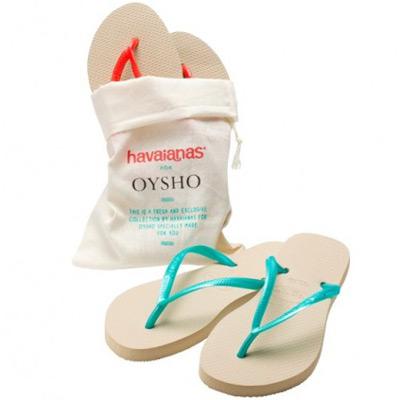 sandalias Havaianas de Oysho