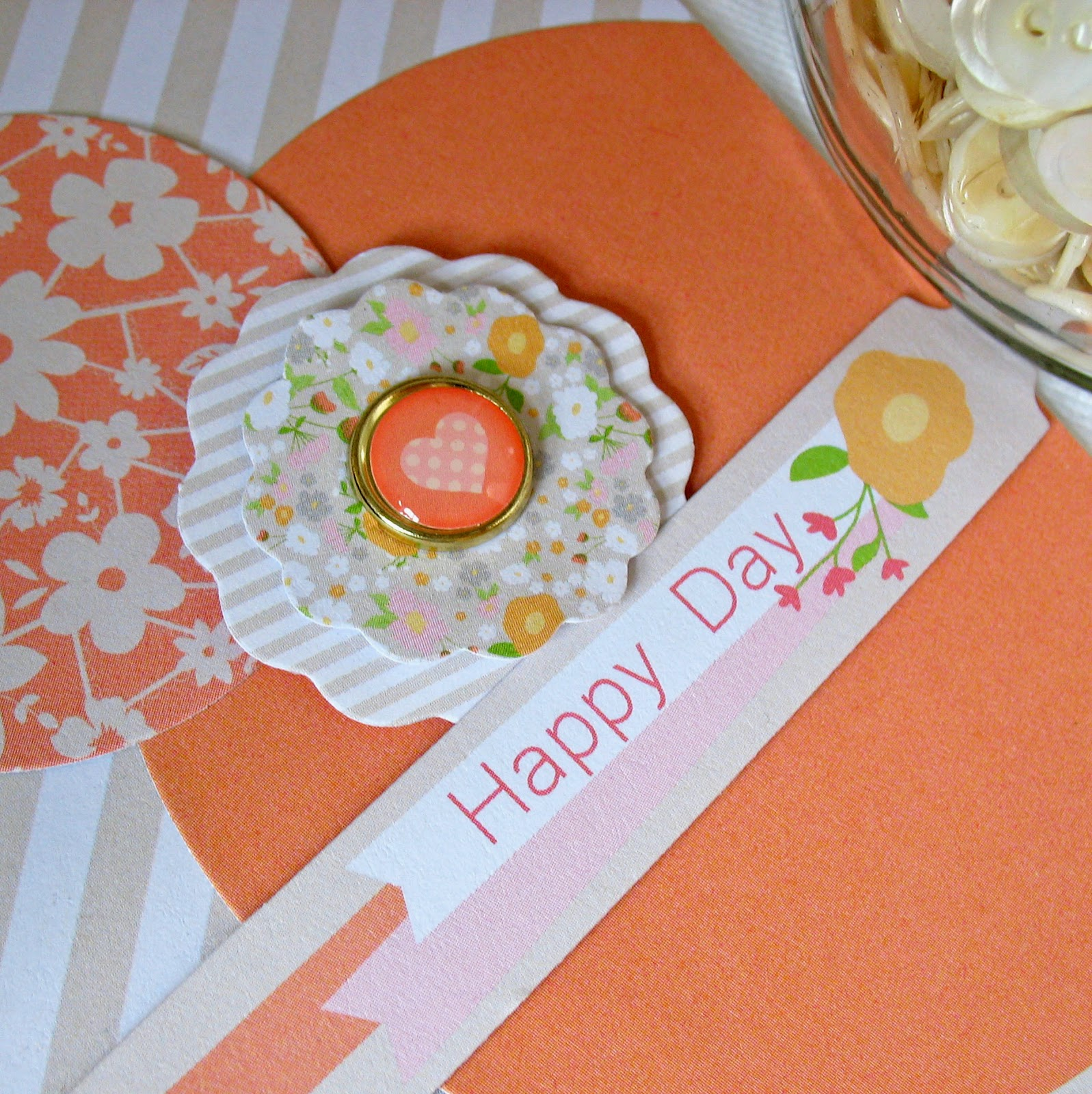 Kathy Martin Chickaniddy Crafts August Pinterest Card close-up