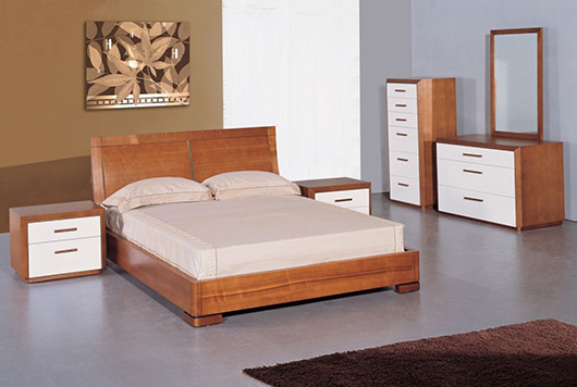 Maya Platform Bedroom Set