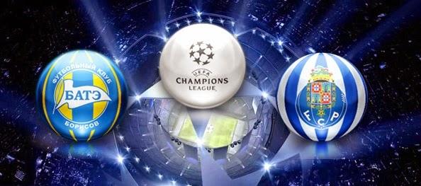 BATE Borisov Vs FC Porto