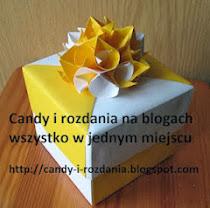 Candy i rozdania na blogach