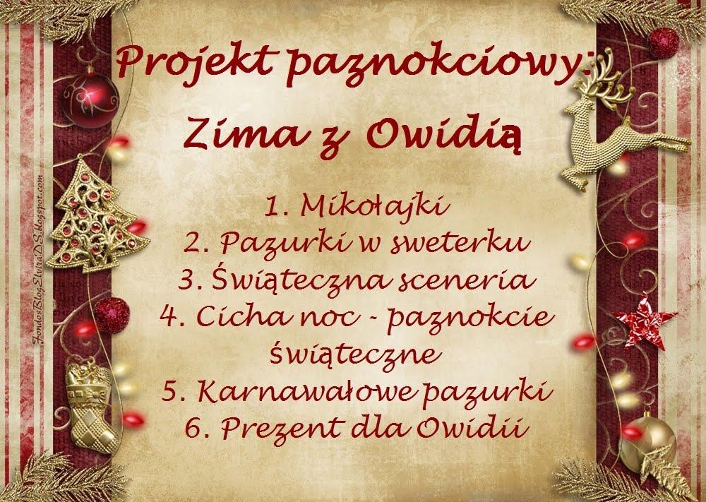 Projekt paznokciowy u Owidii 30.11-10.01