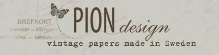 Vintagepapier von Pion Design