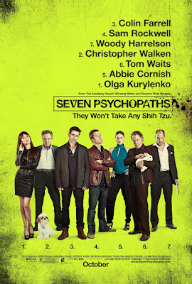 Seven Psychopaths Poster
