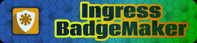 Ingress Badge Maker