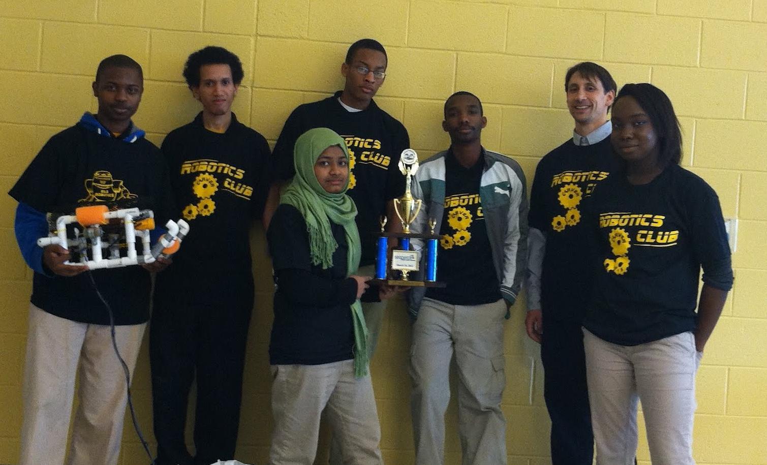 Robotics At Hses Seaperch Team Earns 3rd Place At Regionals