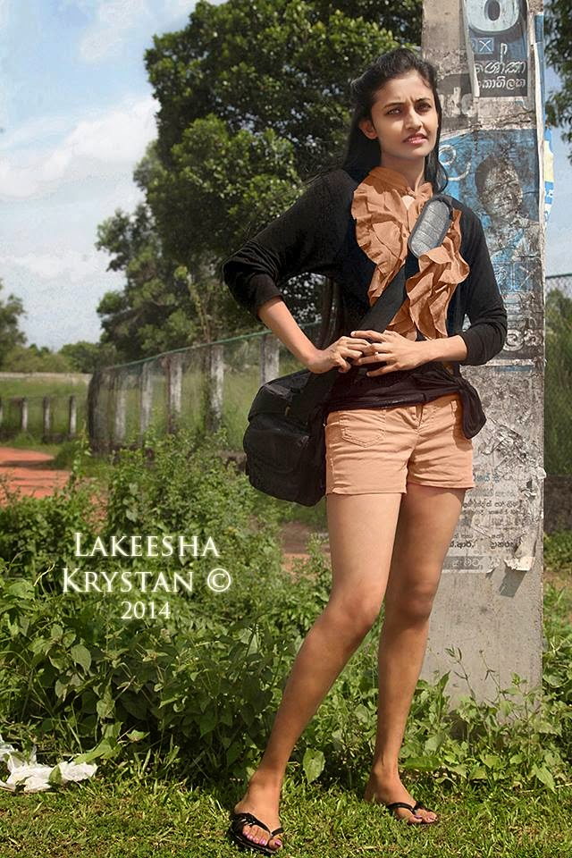Lakeesha Krystan sri lankan model