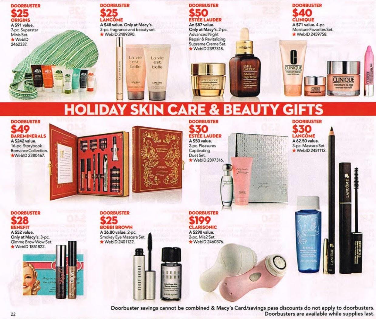 Sugarbitesbeauty Macy S Black Friday Beauty Deals 2015