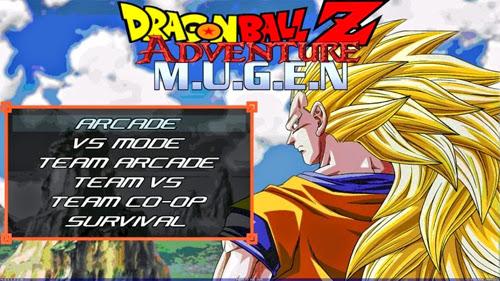 Baixar Dragon Ball Z Adventure M.U.G.E.N