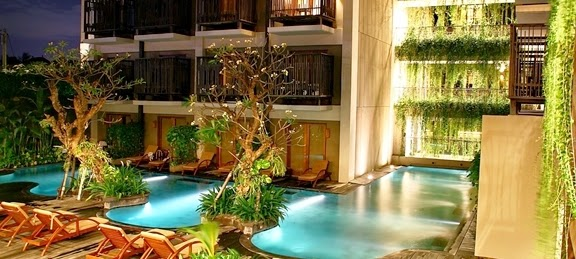 The Oasis Lagoon Sanur, Hotel with a cozy lagoon pool view