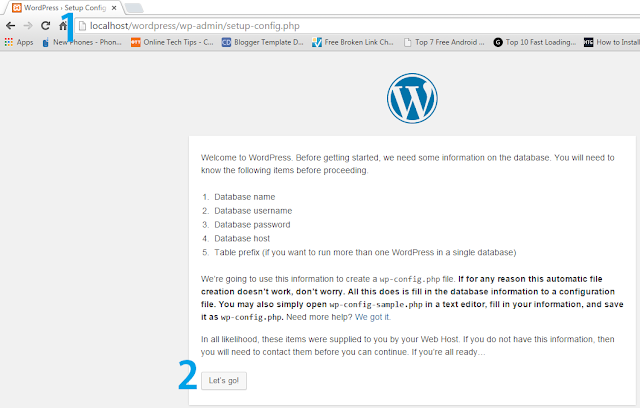 localhost/wordpress