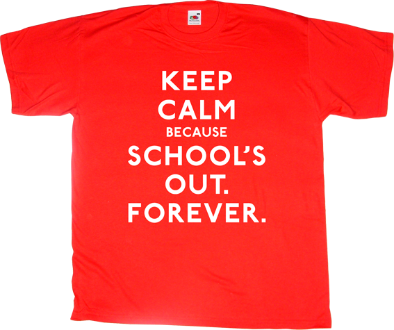 school's out alice cooper fun autobombing rock t-shirt ephemeral-t-shirts