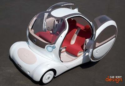 سيارة  بيفو  الجديدة التي تدور حول نفسها 360 درجة