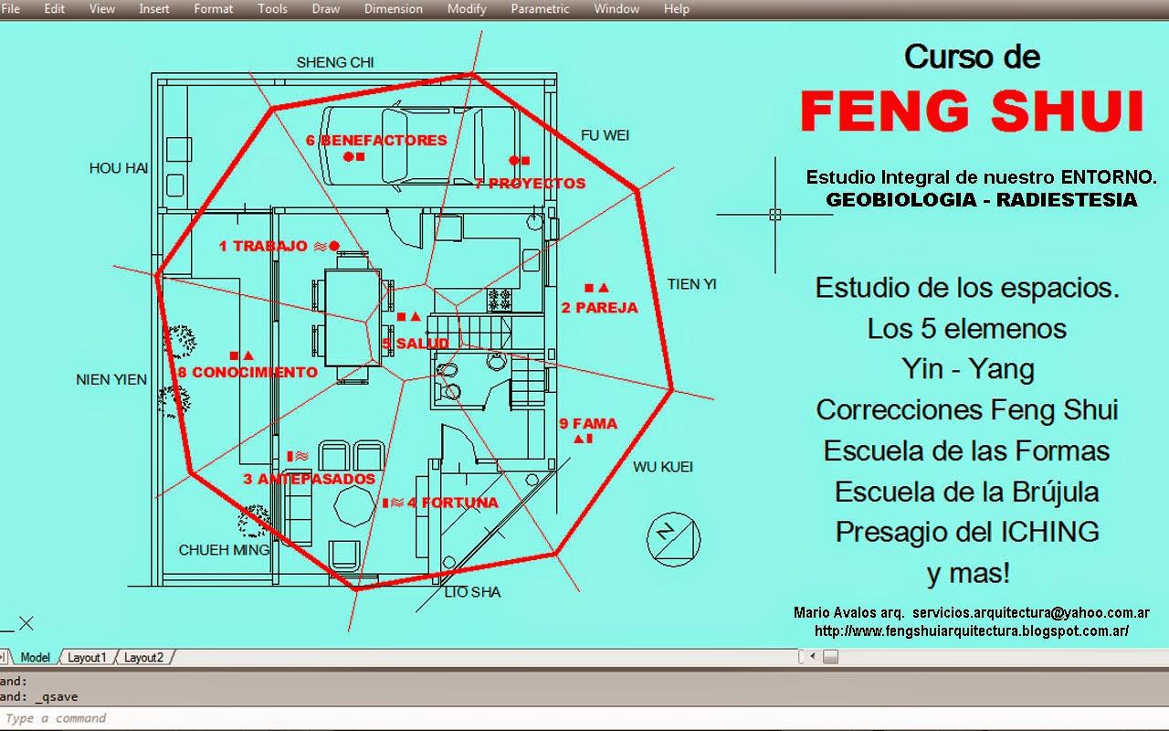 Arquitectura y feng shui for Casas feng shui arquitectura