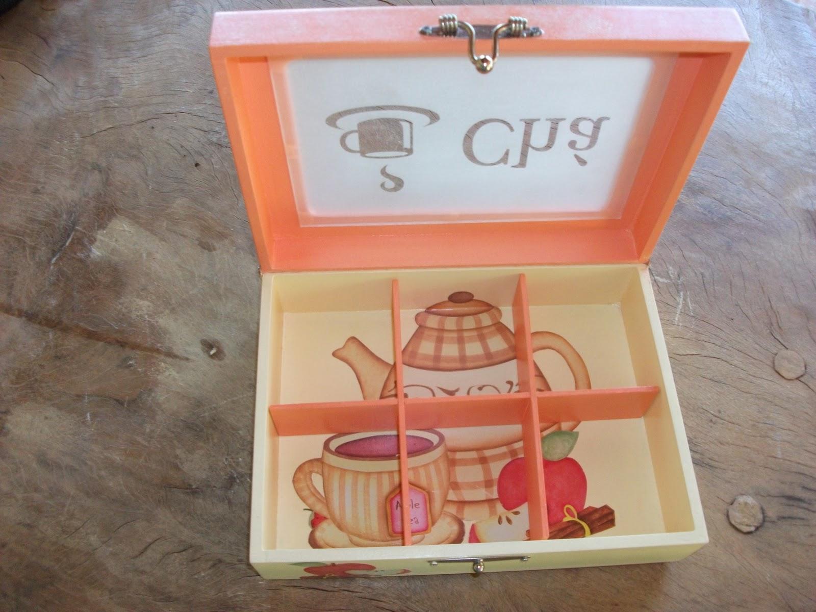 Aprendiz de tudo um pouco: Passo a passo caixas para chá e sucos #9C362F 1600x1200