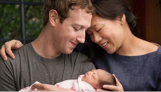 Mark Zuckerberg anuncia nascimento da filha Max