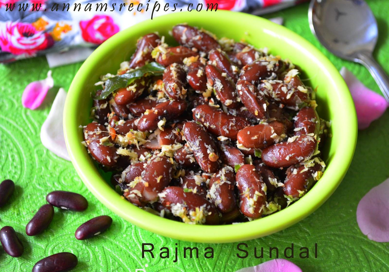 Rajma Sundal