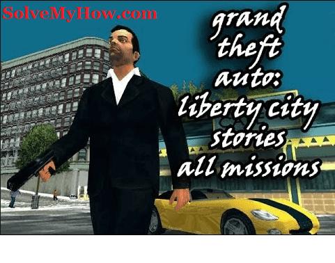 gta liberty city stories cheats psp latest!   solve my how