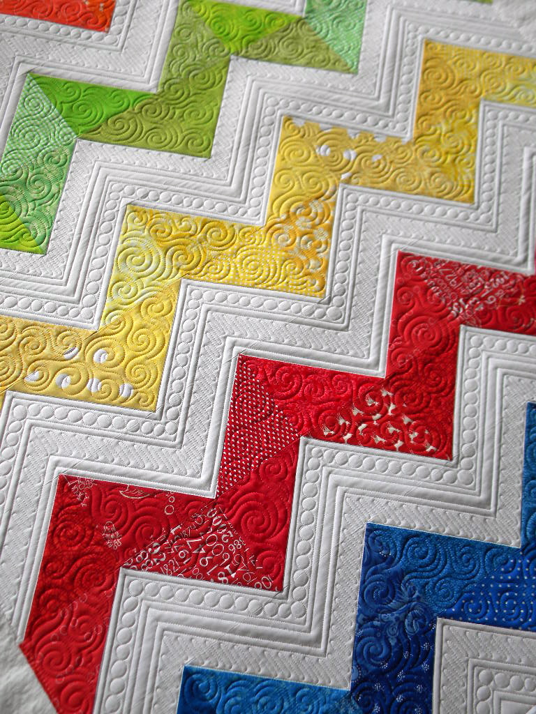 Sew Kind Of Wonderful: Lisa's Chevron Quilt : chevron quilt - Adamdwight.com