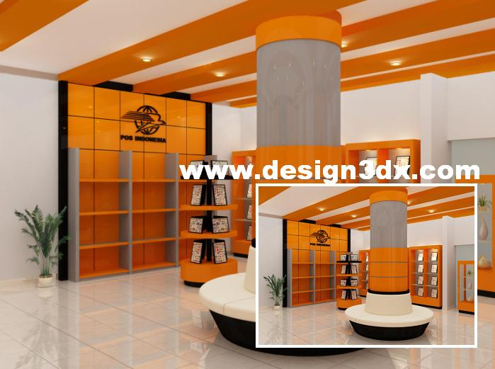 Design Toko Buku Toko Buku Desain Interior