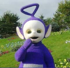 Tinky Winky out of closet; Teletubby admits he is gay