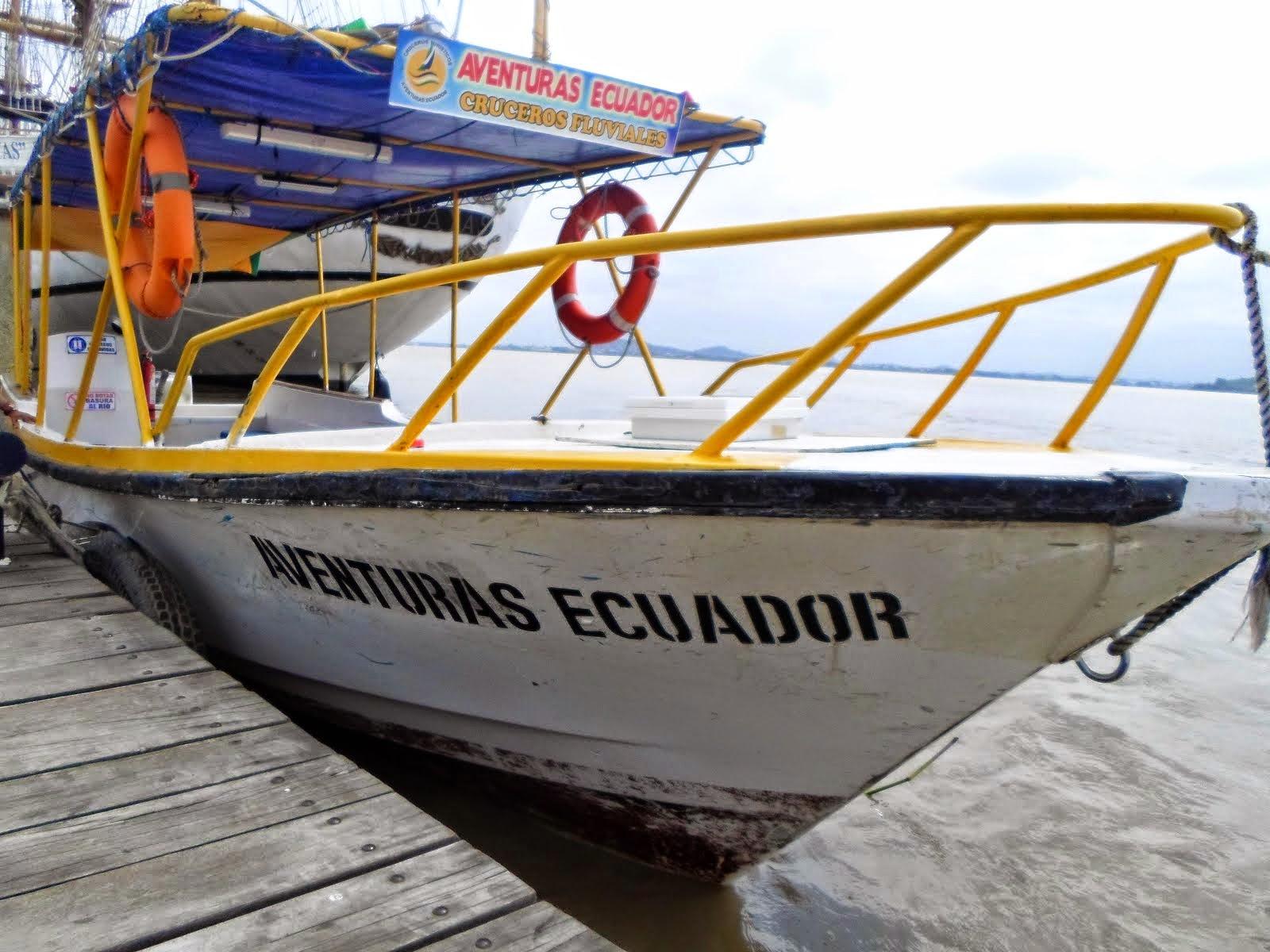 BOTES TURISTICOS DE AVENTURAS ECUADOR