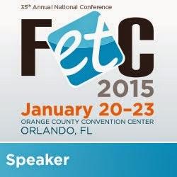 FETC Speaker badge