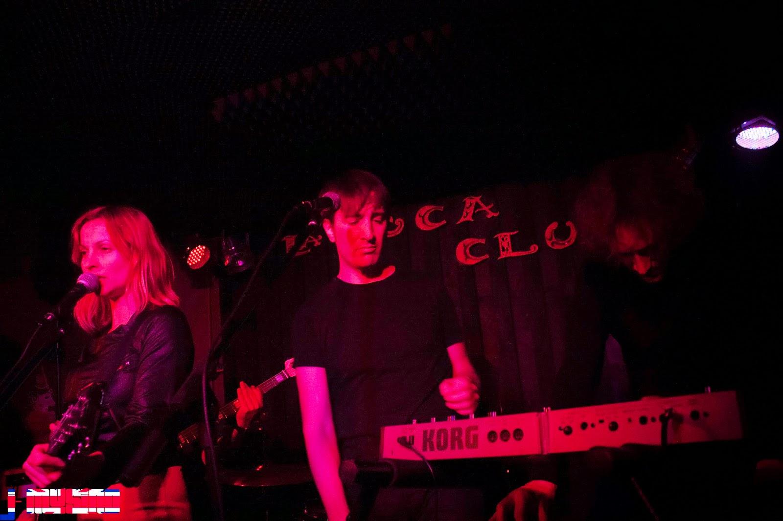 Magictostadora y Clara Plath en La boca club