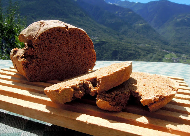 chestnut buckwheat bread