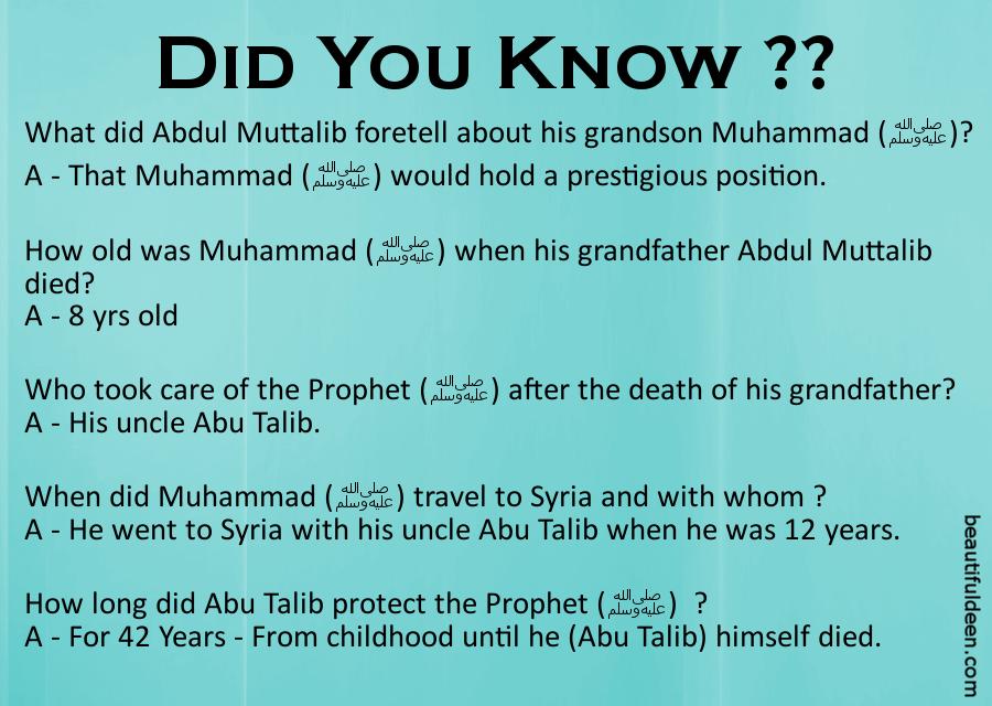 Life of Prophet Muhammad (S.A.W) - 3 ~ Beautiful Deen