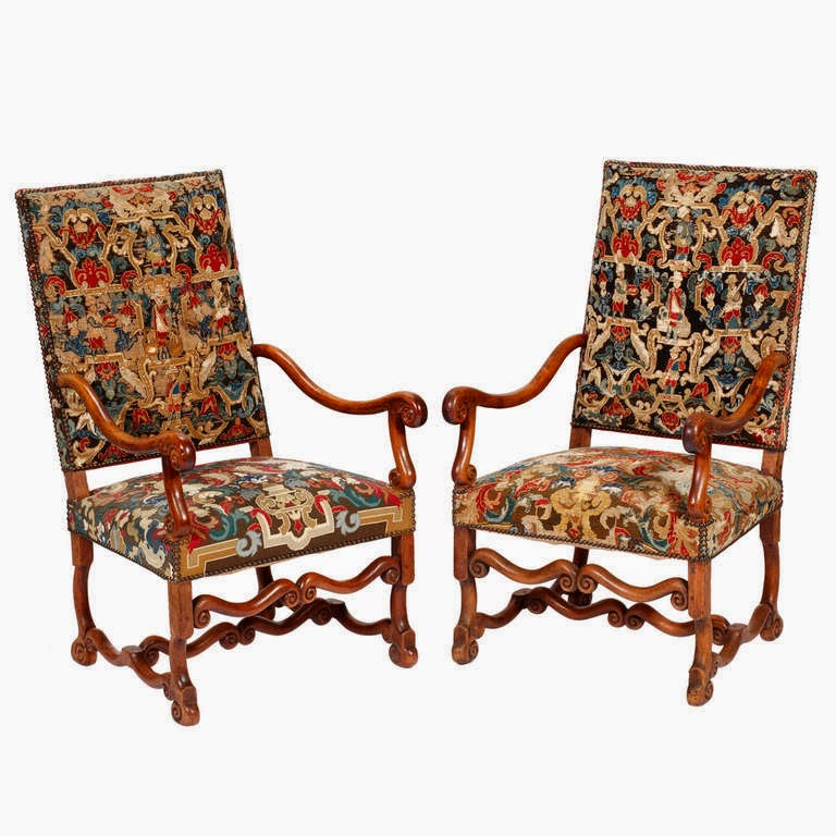 Chair Furniture Styles peonies and orange blossoms: ultimate guide: french chairs, louis