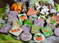 Biscotti decorati per Halloween