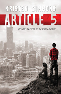 Book Cover of Article 5 by Kristen Simmons