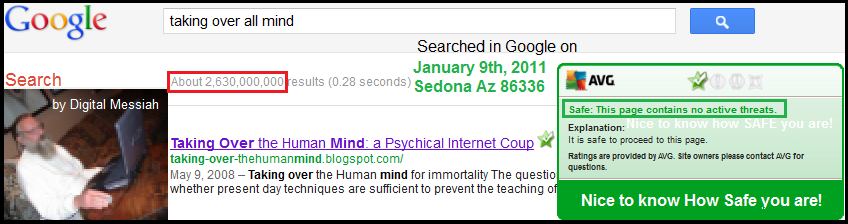 Manipulating all Search Engine Results: this is my Internet