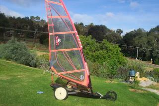 AUTOCONSTRUIDO FOTO carrovela planos construccion handmade carrovelismo (similar a: blokart, windreamer, rinox, etc)