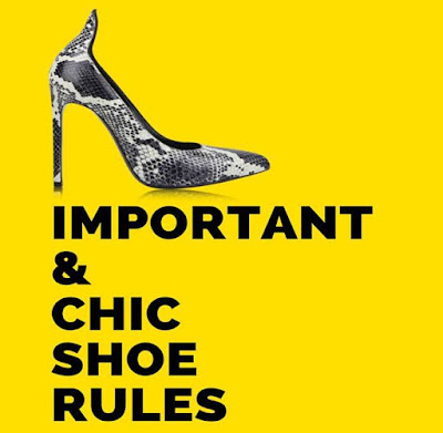 Important & Chic Rules of Shoes for Women, Important & Chic Rules, Shoes for Women, Fashion, Shoes Fashion