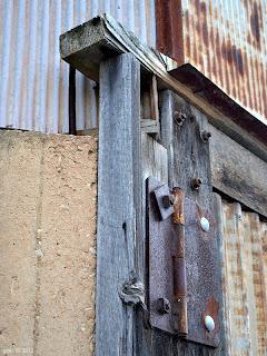 rusted hinge