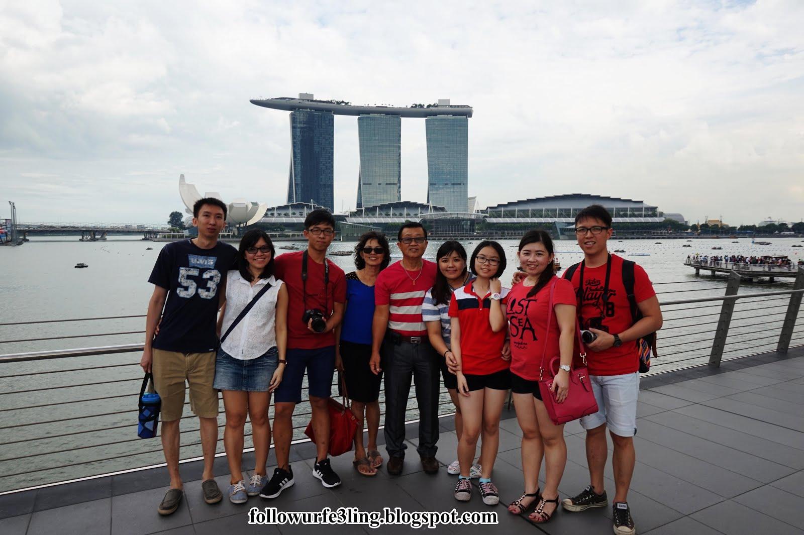 狮城新加坡之9+1家庭游 | 2015