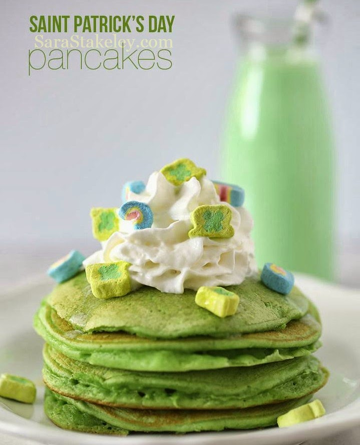 21 day fix meal plan, PCOS, St. Patrick's Day, Eat clean Breakfast, Eat clean St. Patrick's Day, Green food, Green Pancakes, Green eggs, family tradition, Irish Coffee, Coconut Creamer, Broccoli Quiche, Sara Stakeley, Sarastakeley.com,