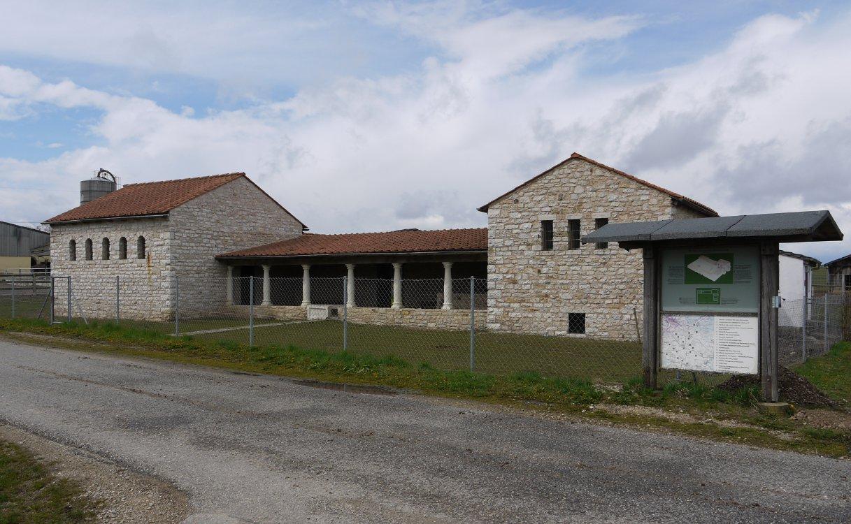 Zeitspringer villa rustica m ckenlohe for Villas rusticas