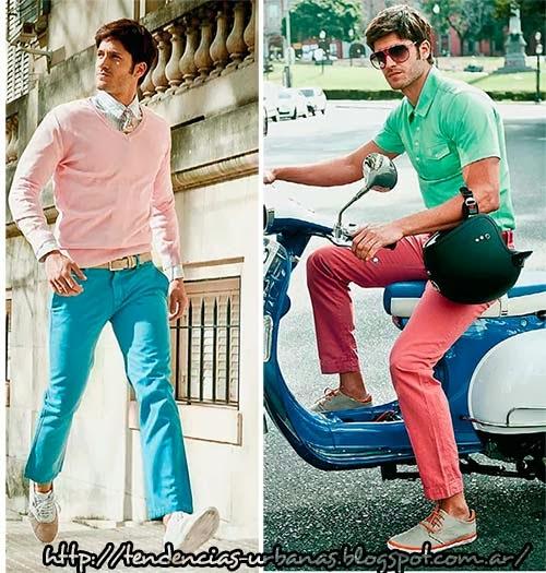 Ropa de moda para hombre verano 2014