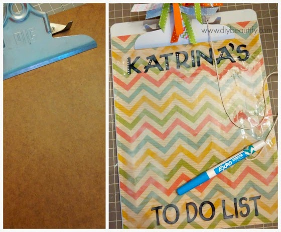 DIY Clipboard www.diybeautify.com