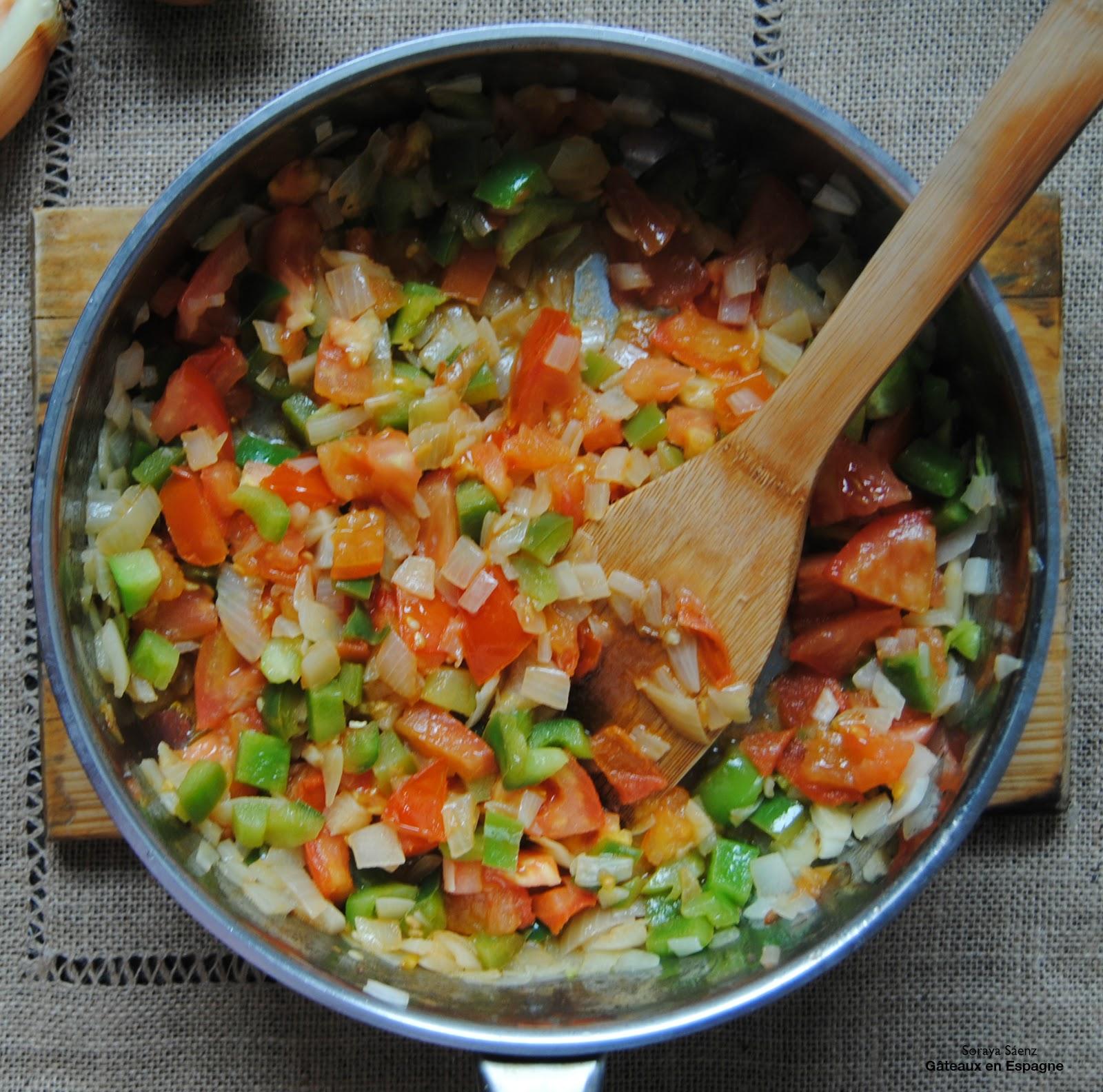 G teaux en espagne recette de lasagne l 39 aubergine et la viande - Aubergine a la poele ...