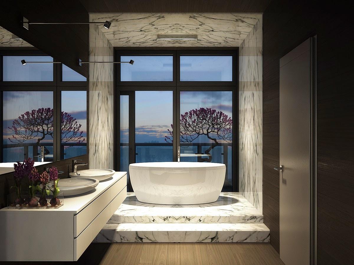 Un ba o de lujo oasisingular - Muebles de bano de lujo ...