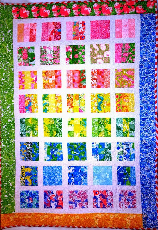 Katie Spitaletto's Girly Vintage Quilt