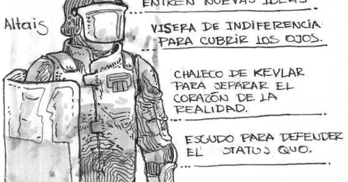 La Casita de la Locura - Estampados: Anatomía del Policía Antidisturbios