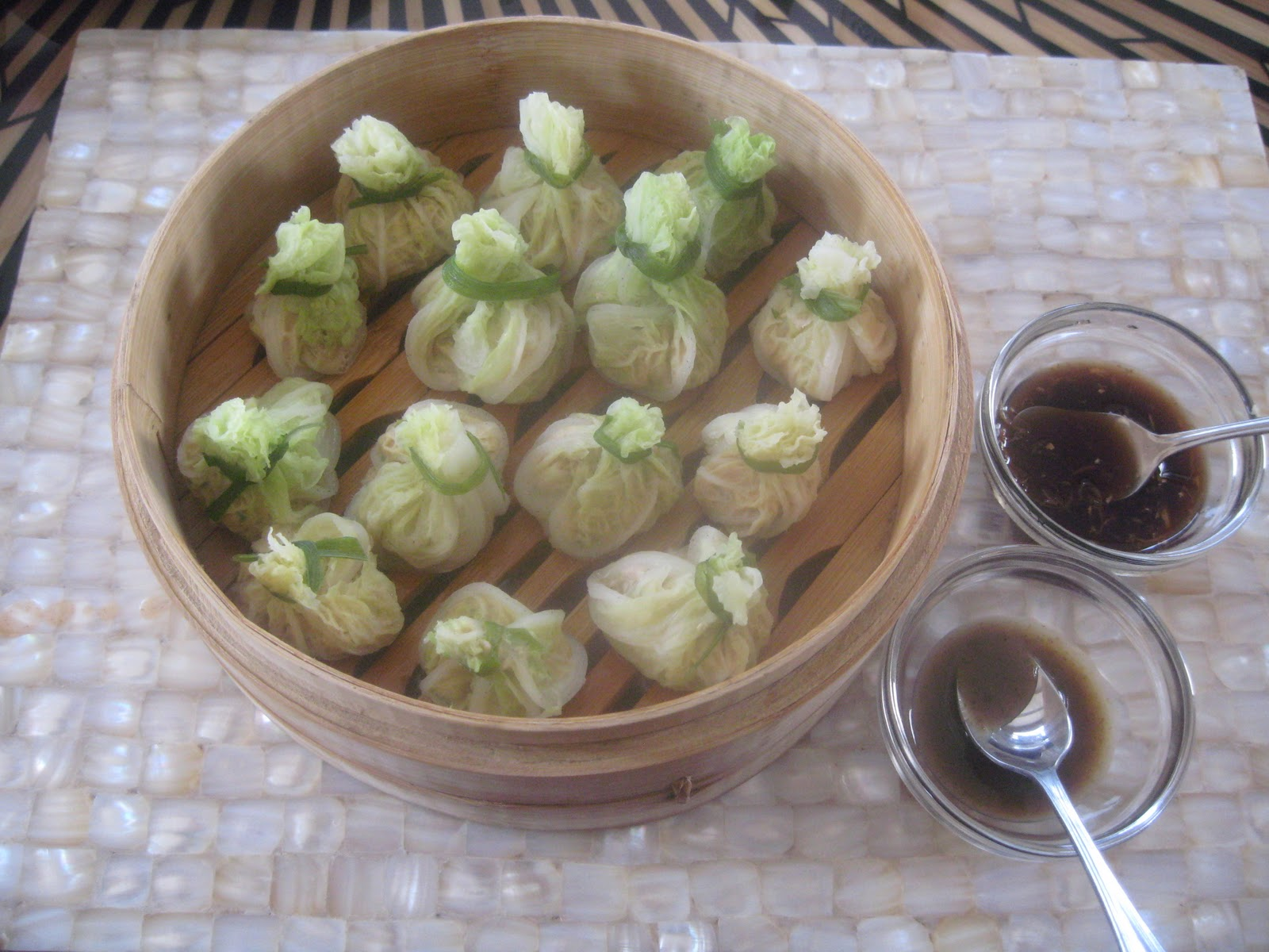 ... BY NATURE (TRIED AND TESTED RECIPES): STEAMED CHINESE CABBAGE PARCELS