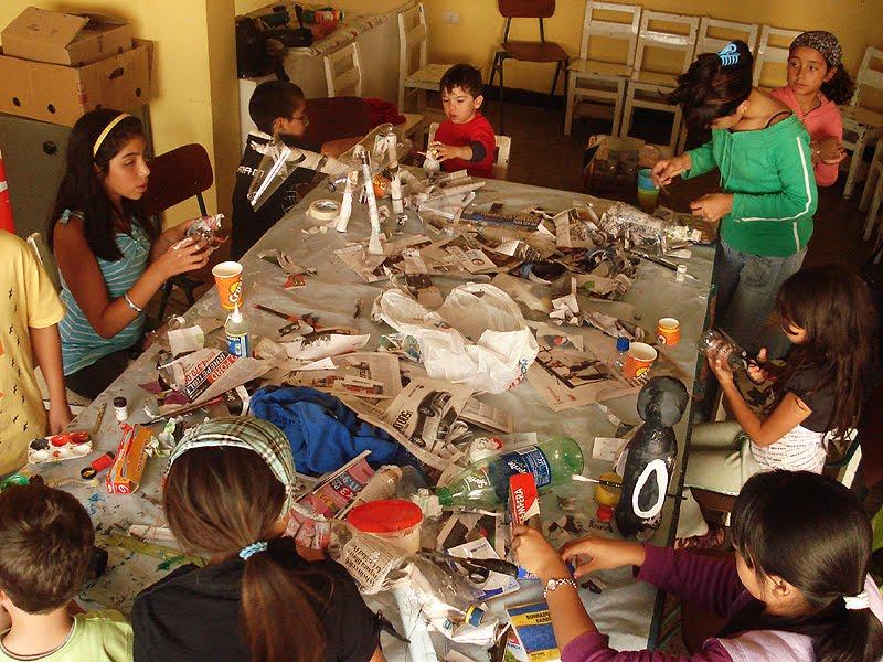 Esculturas Con Materiales Reciclados Para Nios | MEJOR CONJUNTO DE