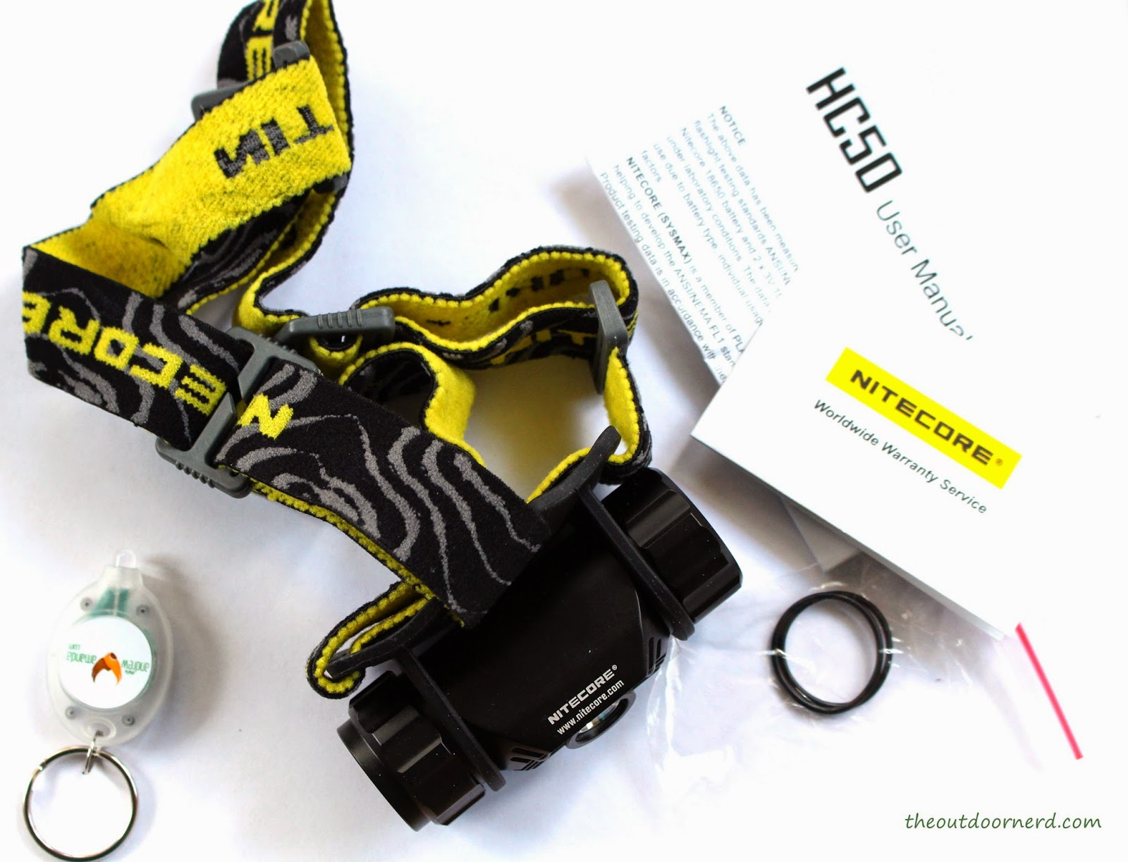 Nitecore HC50 Headlamp Unboxed